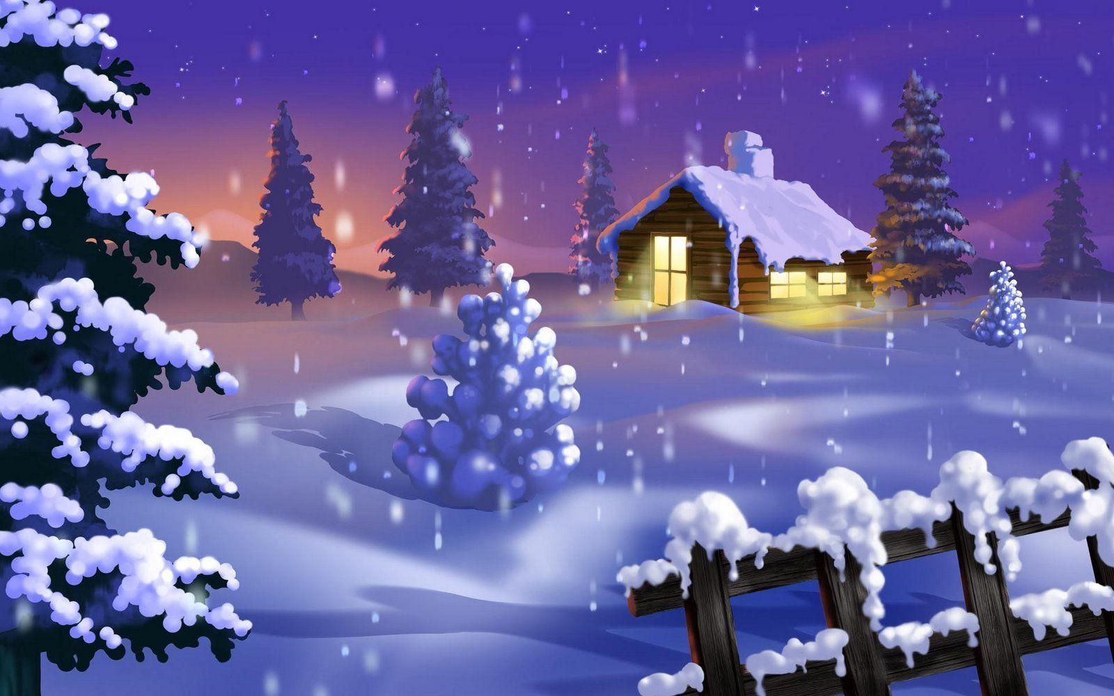 Nella Merry Christmas Scene 1