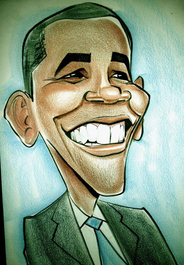 Caricaturas Obama