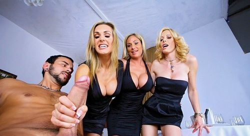 Tanya Tate Group Groping