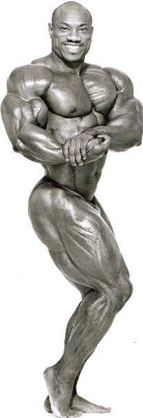 Bodybuilder Tristan Cage