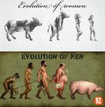 Evolution of Men vs Women ~ AmazinggArts