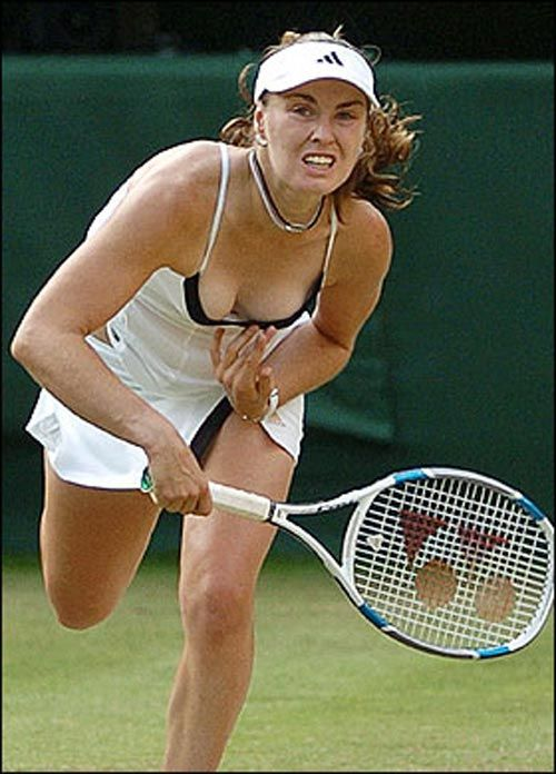 Hingis Hot Martina Photo