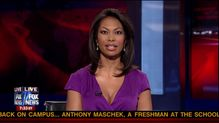 Harris Faulkner on the Fox Report  Sexy Leg Cross
