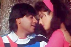 womennature Ajay Devgn with Raveena Tandon