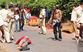 Nov 5, 2013  Nigerian Killed In Goa India By Indian Drug Dealers, 53