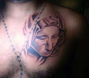 virgin mary think 35 Inspirational Virgin Mary Tattoos