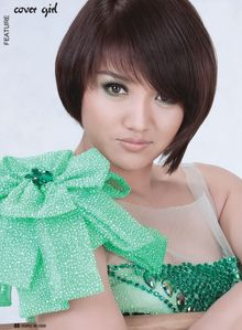 Thet Mon Myint - Princess in Green photo collection  Total 5 photos