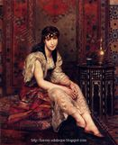 Harem and Odalisque Paintings: Harem Girl
