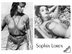 Sophia Loren Nude - Early Paparazzi Set - Fehos Celebrity Videos and