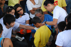 Circumcision For young boys in the Philippines attended by thousands