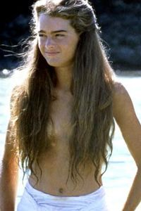 Brooke Shields in Blue Lagoon: