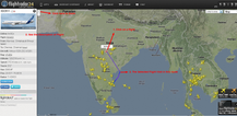 Flightradra24 shows live air trafficfrom around the world  The primary
