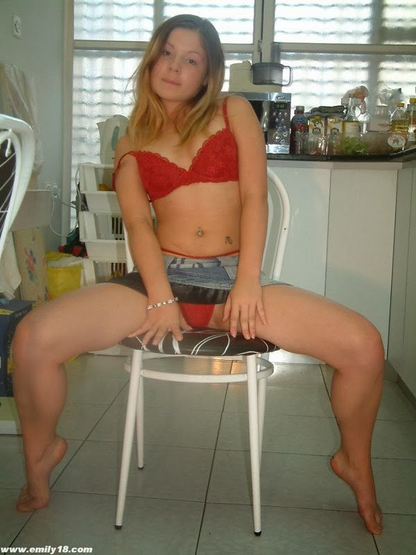 Sweet Teenie Takes Time Taking Off Her Blouse And Have Totally Naked