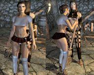 mods sexy armor unp schoolgirl outfit
