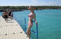 Real Barbie Doll (Valeria Lukyanova) in bikini hot photos. Here is a