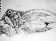 Kate Winslet�s nude Titanic sketch to go under the hammer ~ My