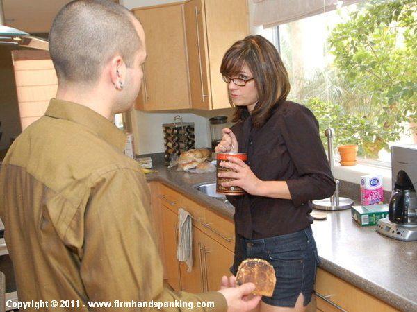 Samantha Woodley Kitchen Spanking
