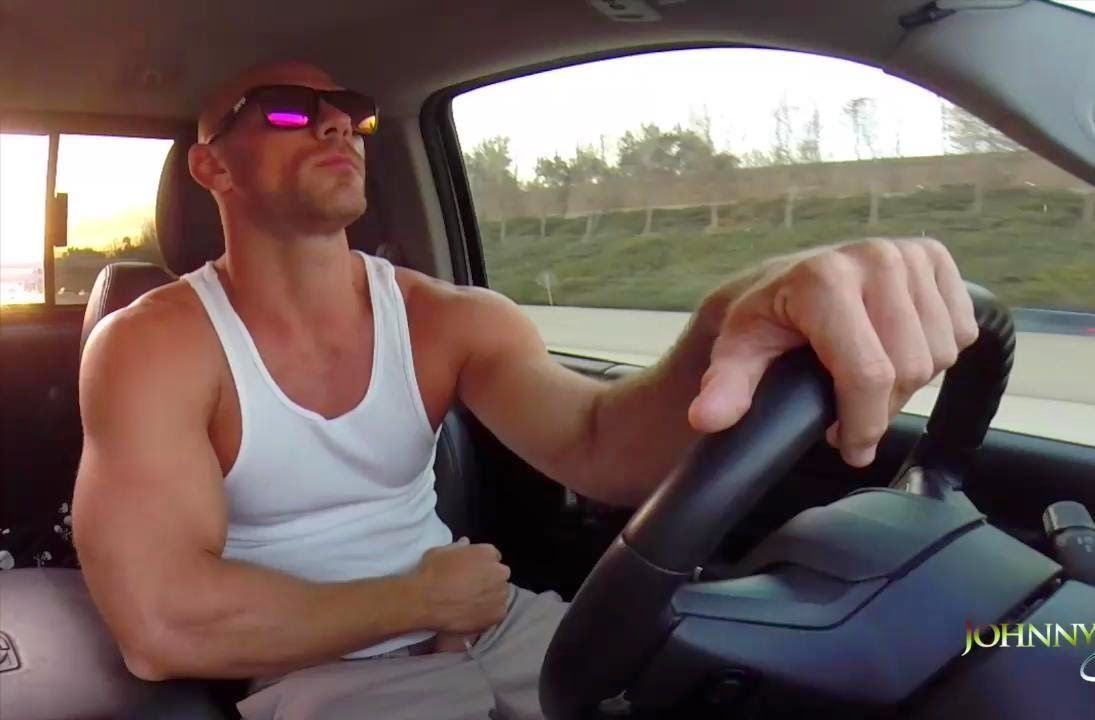 Johnny Sins Driving And Jerking Off