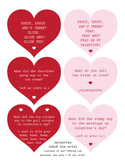 Valentine Lunch Jokes – 1 freebie(s)?