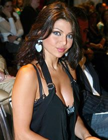 lebanese model actress and singer who rose to fame in the arab world
