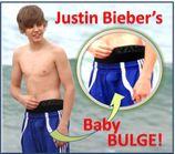 Justin bieber bulge