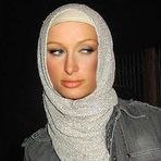 paris hilton hijab pic is paris hilton a muslim rumour alert ok it