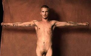 My Fun Galaxy: David Beckham Naked Photo Shows His Uncut Dick