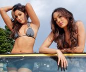 twin Divas, Nilli Bella and Brie Bella | Latest Photos Of Bella twins