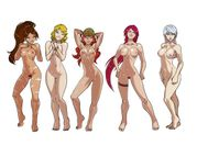 Ganassa's Artwork Gallery: League of Legends babes  Nude version