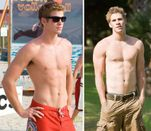Liam Hemsworth Four Times