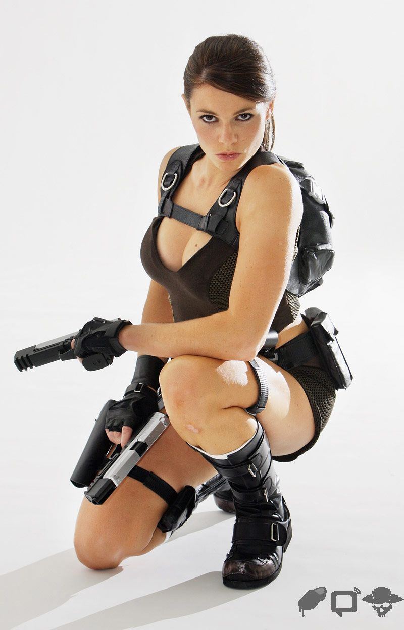 Destiny Dixon Lara Croft Photoshoot Pir Te