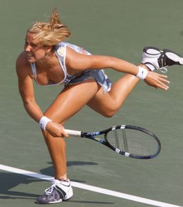 Labels: camel toe , tennis , upskirt