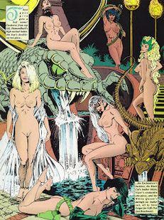 Superheroines Nude Peril #15 | 1280 x 720