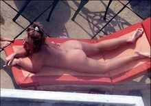 Britney Spears Caught Sunbathing in the Nude Candid Naked Photos