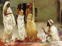 Harem and Odalisque Paintings