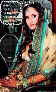 REAL CELEB FAKE SPEAK: Sania Mirza