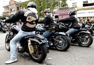 Photography: May 2010: Hells Angels Funeral, Hackney Road. London
