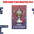 Pahang Bertemu PDRM Suku Akhir Piala Malaysia 2014