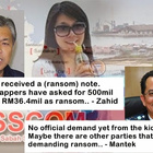 Ransom Demand: Who is telling the truth?