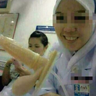 2 Gambar: Nurse Berselfie Riang Dengan 'Ehem Ehem' - Haha!!! Sungguh Lawak