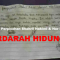 2 Gambar: Kontrak Perpisahan Shahril Hakimi & Nor Suhaila - Berdarah Hidung!!!