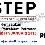 Pendidikan: Permohonan Kemasukan Ke Institut Teknologi Petroleum Petronas (INSTEP) Bagi Sesi Ambilan JANUARI 2013 | JomStadi