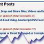 Tutorial Buat Widget Recent Posts | PING CALLA