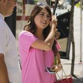 Daniella Monet Was Spotted Enjoying A Day Off In Vancouver, Canada.