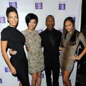 Mitchell, Bria Murphy, Eddie Murphy And Little Sis Shayne Murphy