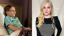 16x9 608 Little Miss Sunshine Child Star Abigail Breslin Poses Topless