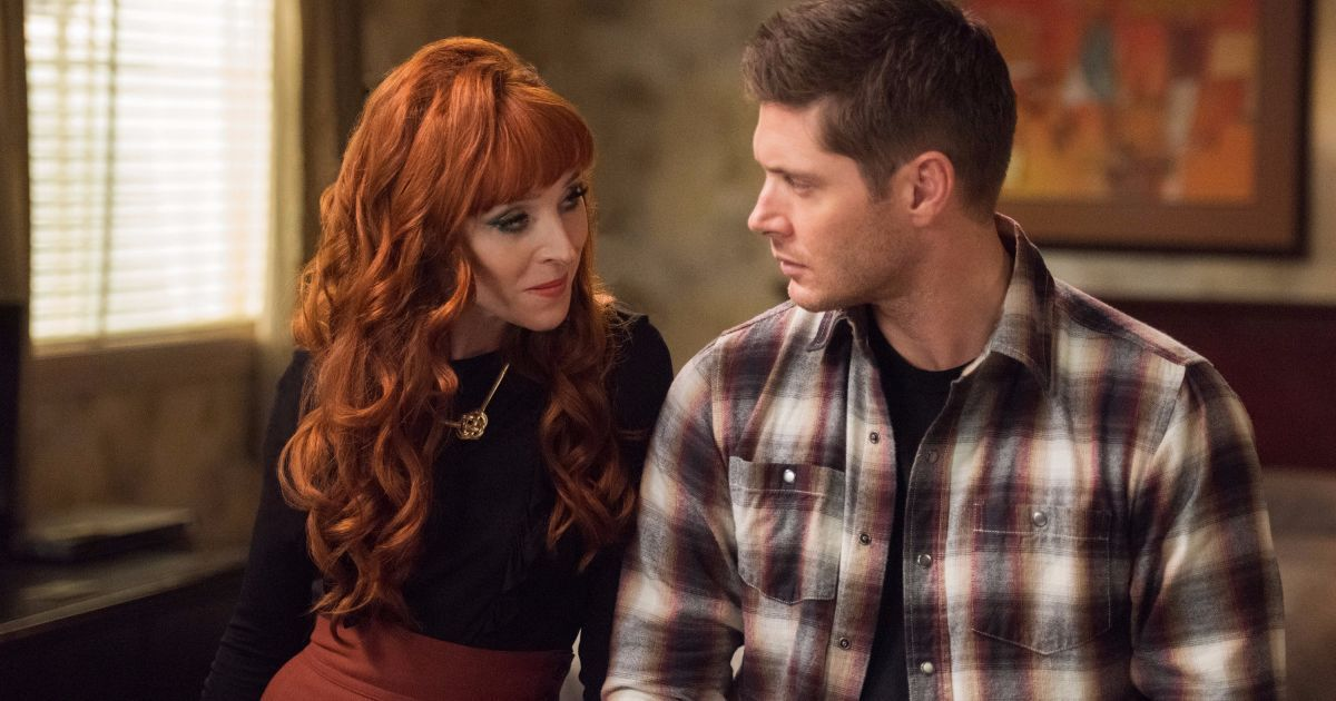 'Supernatural' star Ruth Connell previews Dean's memory loss and Rowena's brush with heroism