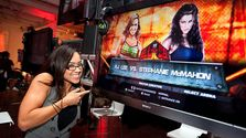 AJ Lee first sees cyber self in 'WWE 13'  Sports Technology, Gaming
