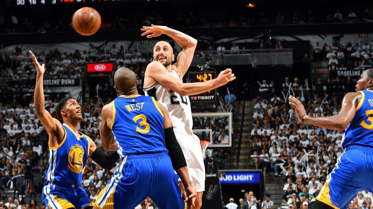 Spurs' Ginobili to take time to decide future - ESPN