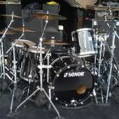 PHIL RUDD´S DRUM KIT Photos From Pedro Nicolas (PEDRO NICOLAS) On